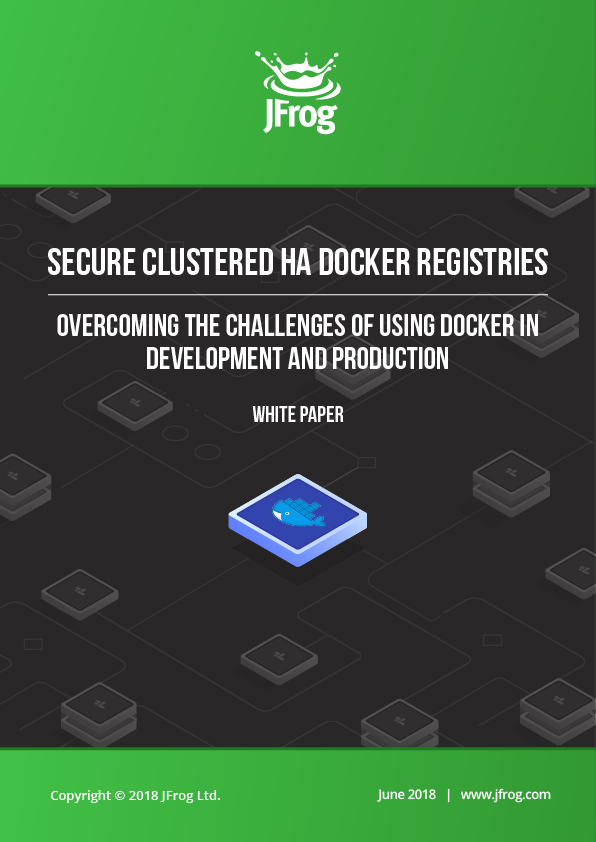 JFrog Docker Registries - White Paper
