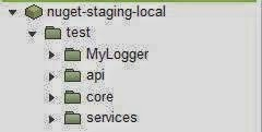 nuget staging local
