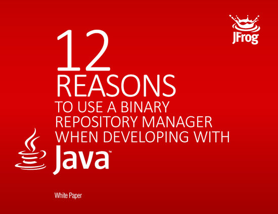 12 reasons to use a binary repository manager when developing with Java