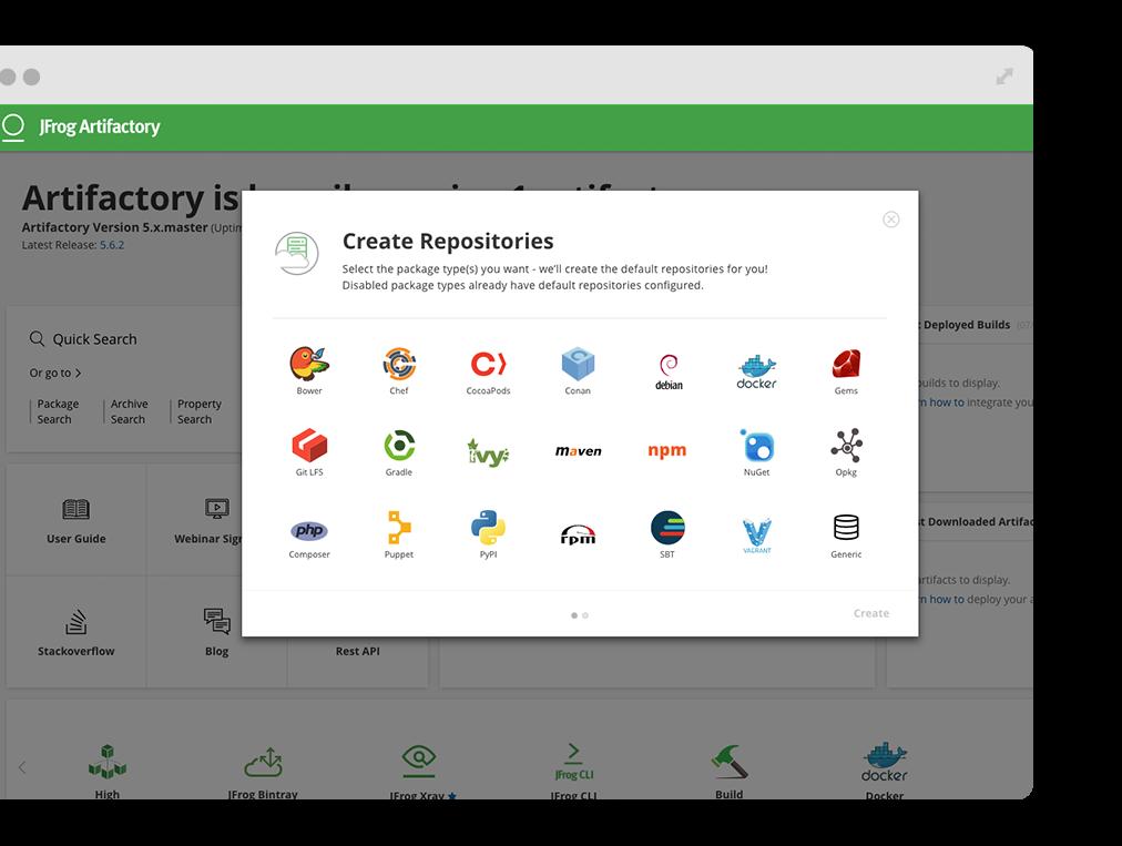 Artifactory - Universal Artifact Repository Manager - JFrog