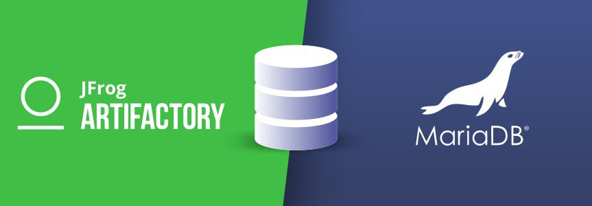 JFrog Artifactory supports MariaDB