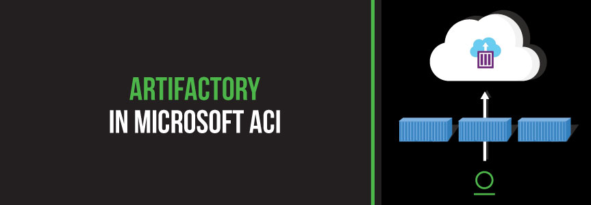 JFrog Artifactory Integrated in Microsoft ACI