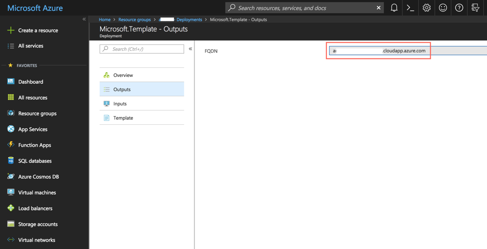 Access Artifactory from Azure Portal