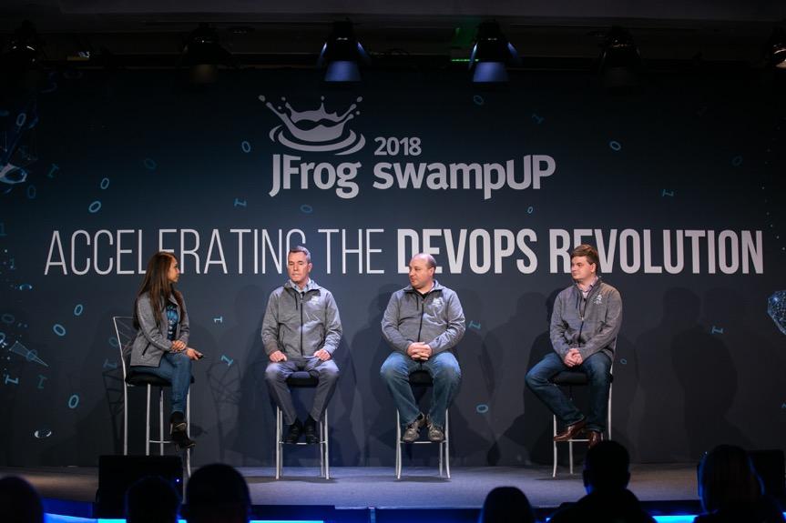 Enterprise+ at swampUP 2018