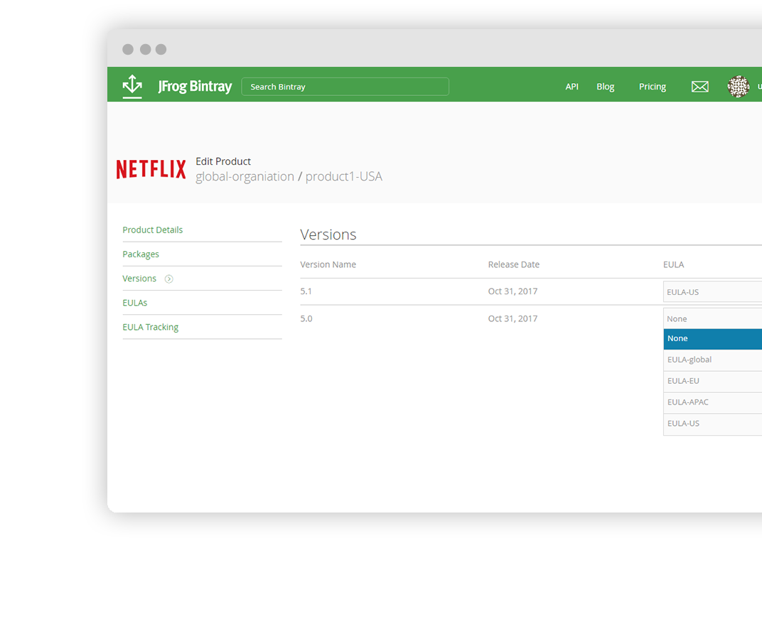 Bintray – Universal Distribution Platform - JFrog
